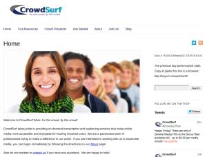 The New CrowdSurf Website!