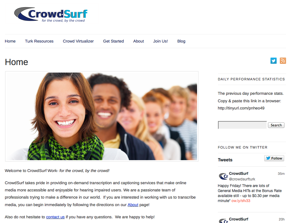 The New CrowdSurf Website!